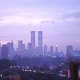 WTC at sunrise from Brooklyn
